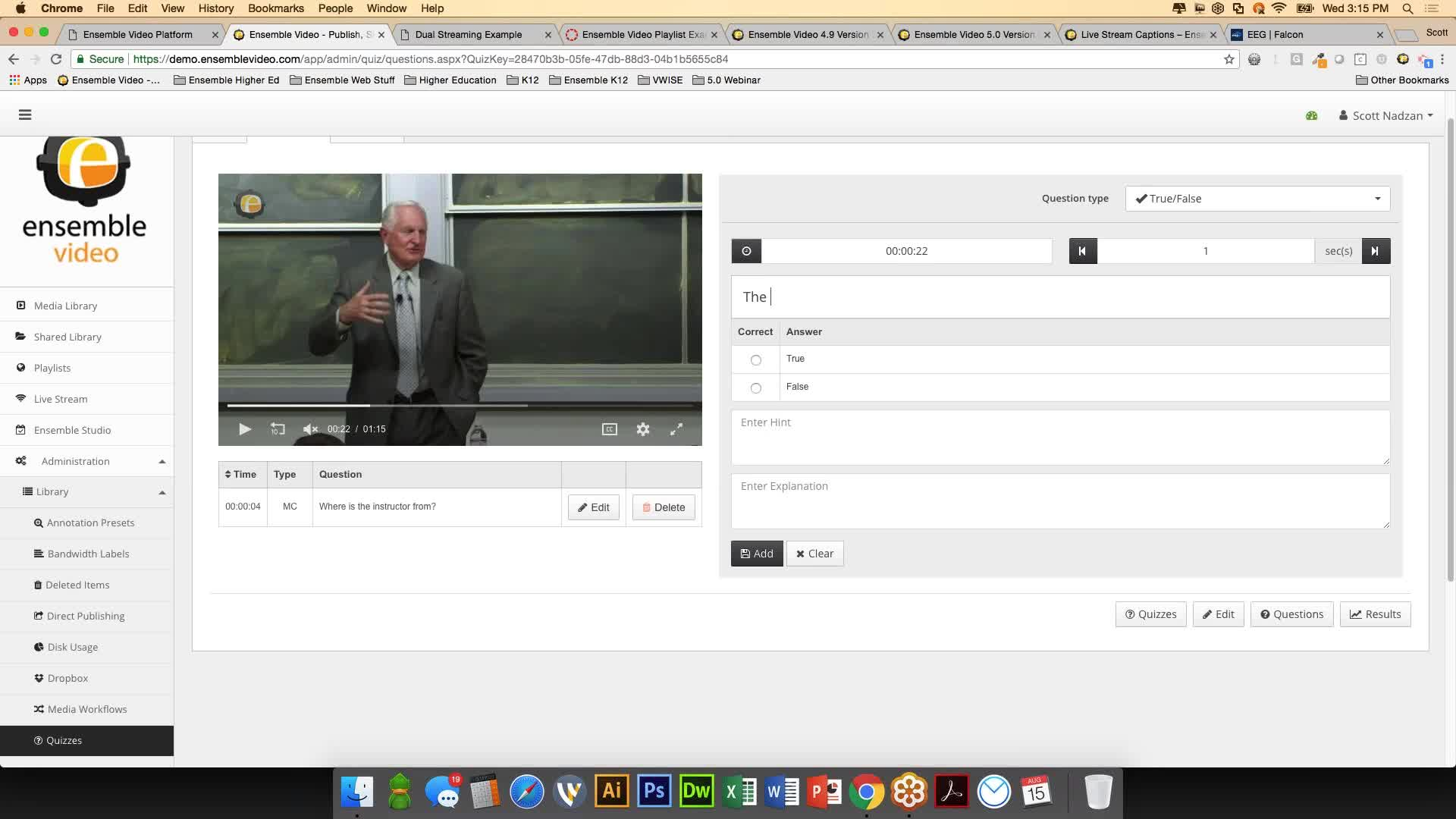 What's New in Ensemble Video 5.0 & 4.9?