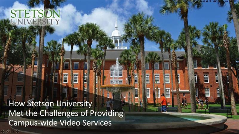 How Stetson Met the Challenges of Providing Campus...