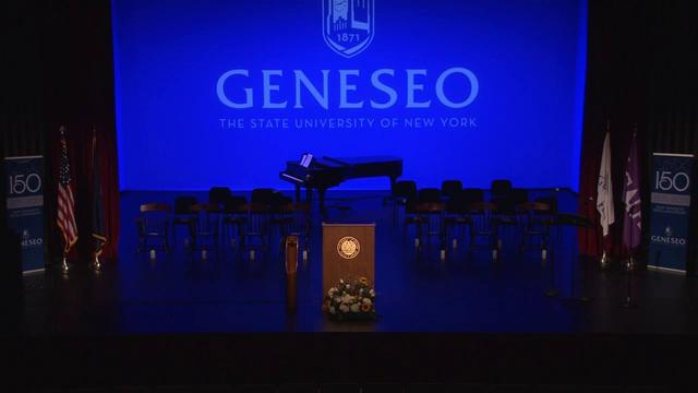 SUNY Geneseo - New Student Convocation - August 26...