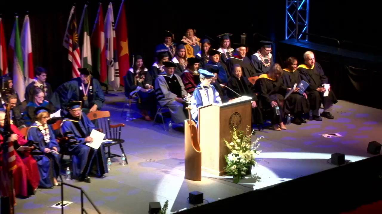 2016 SUNY Geneseo AM Commencement Ceremony- 5/14/2...