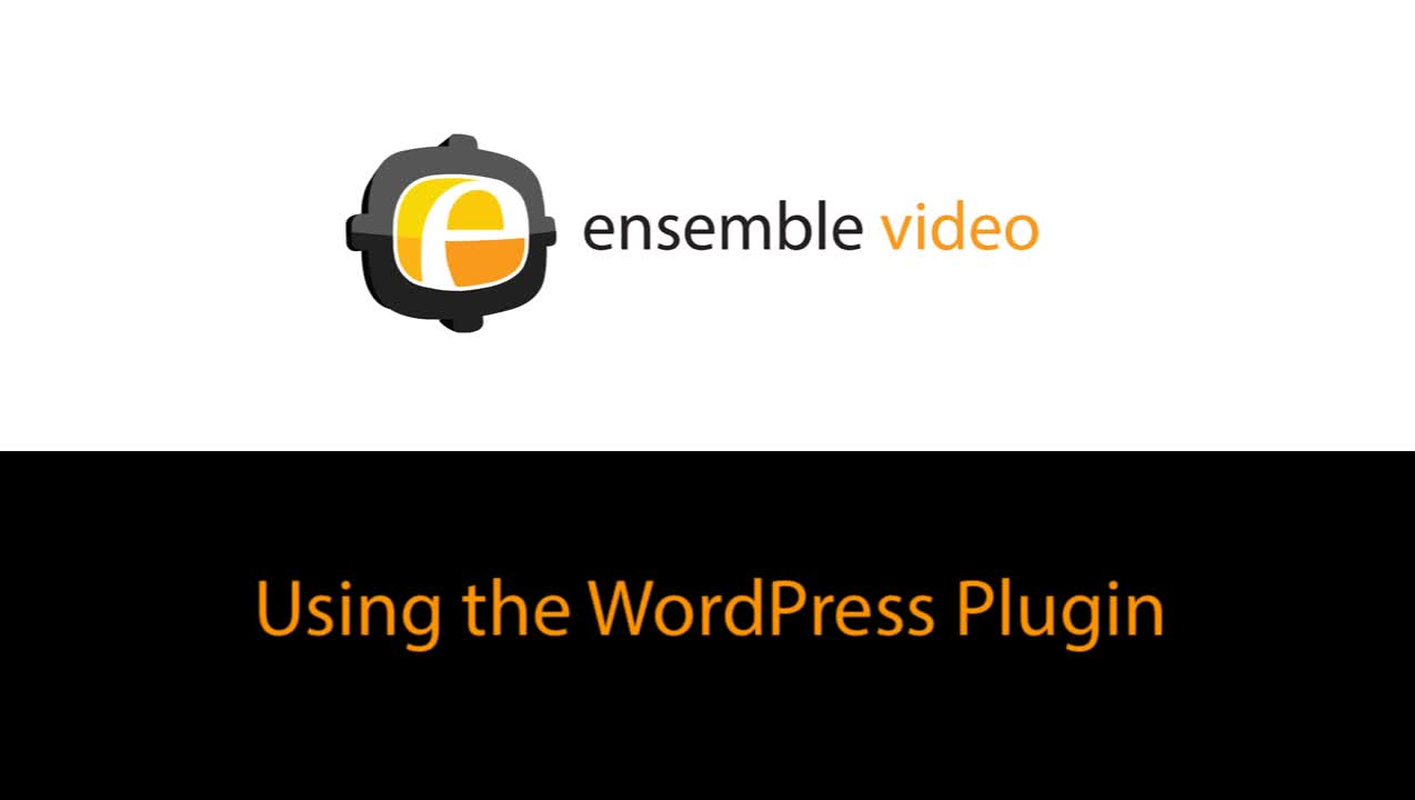 Using the WordPress Plugin